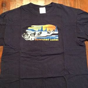 Vintage 2004 Barenaked Ladies Concert Shirt